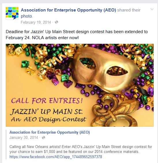Jazzin Up Main Street Design Contest