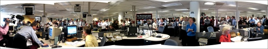 Washington Post newsroom