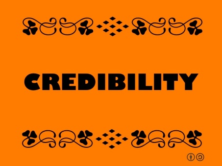 Credibility by Ron Mader Flickr Creative Commons