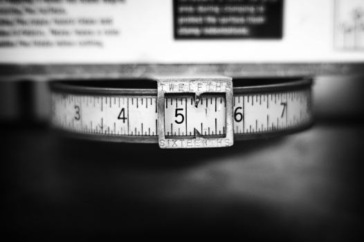 Measurement by William A. Clark. Flickr Creative Commons.